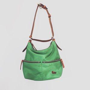 Dooney & Bourke Seville Green Nylon Purse Bag